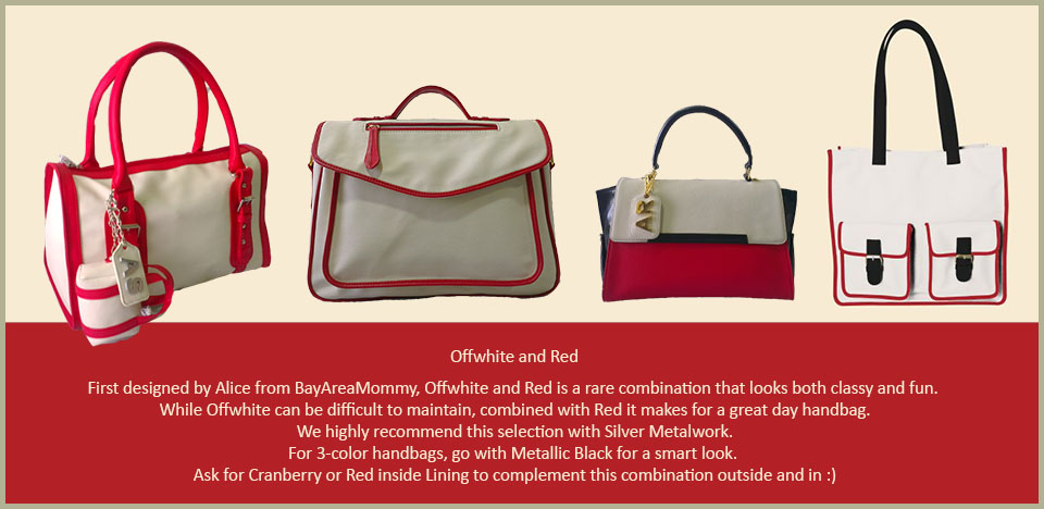 Trend Toteteca Offwhite and Red